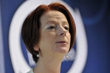Australia's Prime Minister Julia Gillard. Photo / AP