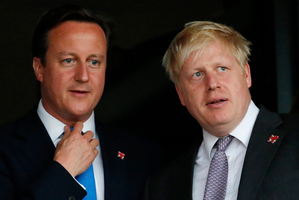 A growing number of Tories hope that David Cameron (left) will be followed by Boris Johnson as party leader. Photo / AP
