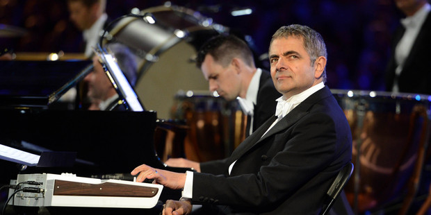 Rowan Atkinson's OOS-inducing, one-note keyboard performance on Chariots of Fire had me chuckling. Photo / AP