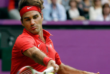 Roger Federer met his wife at the Sydney Olympics in 2000 and insists the Games are a 'special thing to be part of'. Photo / AP