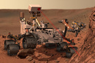 An artist's rendering of the Mars rover, Curiosity. Photo / AP, NASA
