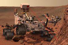 An artist's rendering of the Mars rover, Curiosity. Photo / AP, NASA