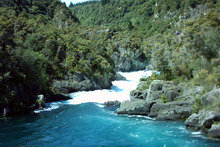 The mighty Waikato River's Aratiatia rapids. Photo / Stephen Russell
