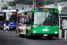 An Auckland bus. Photo / Doug Sherring.