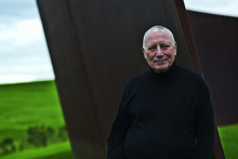 Alan Gibbs at his farm and sculpture park north of Auckland. Photo / Supplied