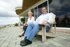Colin Armer (right) with his wife Dale, in a 2006 photo taken on his election to the Fonterra board. Photo / Jimmy Joe