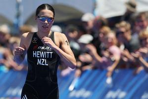 New Zealand triathlete Andrea Hewitt. Photo / Greg Bowker.