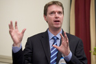 Conservative Party leader Colin Craig told TV3's 'The Nation' programme this morning that people chose to be homosexual and factors other than genetics could determine whether someone was gay. Photo / Natalie Slade