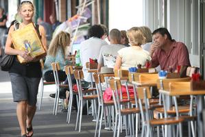 Jervois Rd in Herne Bay is an elegant strip of shops, cafes and restaurants. Photo / Greg Bowker