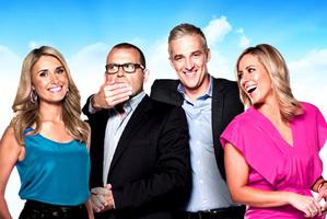 Australia's channel Ten Breakfast show starring Paul Henry. Photo / Supplied