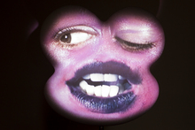 Sang by Tony Oursler, on show at Fox-Jensen Gallery. Photo / Natalie Slade
