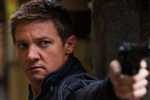 Jeremy Renner in Bourne Legacy.