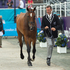 New Zealand's Mark Todd with his horse Campino during the Horse Inspection of the Equestrian Eventing. Photo / AP.