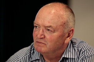 All Blacks coach Graham Henry. Photo /  Richard Robinson