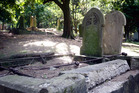 Graves and headstones in the Grafton cemetery. Photo / Sarah Ivey