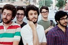 American pop band The Passion Pit. Photo / Supplied