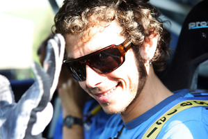 Italian World Superbike Champion Valentino Rossi. Photo / Wayne Drought