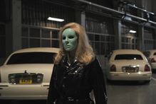 Kylie Minogue appears in an ode to musicals in Holy Motors, a 'surreal dream of a movie' by eccentric French director Leos Carax. Photo / Supplied