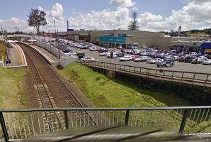 The Weymouth Road overbridge in Manurewa. Photo / Google Maps