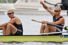 New Zealand's men's pair of Hamish Bond and Eric Murray have continued their domination of the class in easily qualifying for the Olympic final. Source / Brett Phibbs NZ Herald