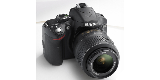 The Nikon D3200. Photo / Supplied
