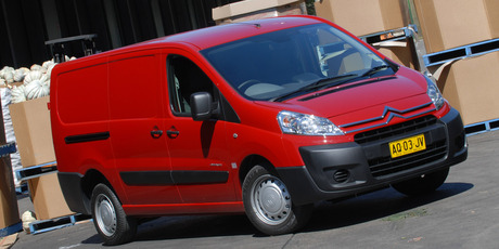 Citroen's Dispatch van. Photo / Supplied