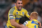 The Parramatta Eels have beaten the Brisbane Broncos to notch their second win in a row in a late-season show of form. Source / Getty Images