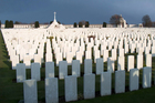 First World War graves in the Belgian town of Ypres. Photo / Thinkstock