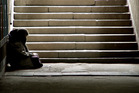 There's no doubt Auckland's motley crew of vagrant street people can be a pain in the proverbial. Photo / Thinkstock