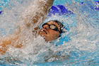 Gareth Kean had a disappointing performance in the men's 200m backstroke heats. Source / Mark Mitchell NZ Herald
