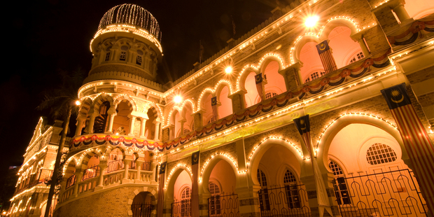 Kuala Lumpur's Merdeka Square is dominated by the copper-dome-topped Sultan Abdul Samad Building. Photo / Thinkstock