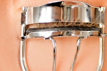 Simply using an eyelash curler before applying mascara will make your lashes look longer. Photo / Thinkstock