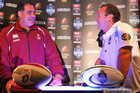 Queensland State of Origin coach Mal Meninga is keen to see his rivalry with NSW coach Ricky Stuart continue. Source / Getty Images