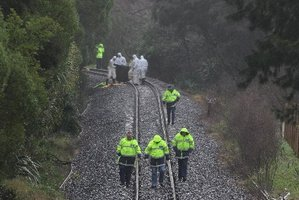 A man is believed to have been struck by a train near the Ngatai and Otumoetai Rds intersection. Photo / John Borren