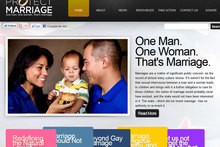 The 'Protect Marriage' website was launched at the weekend - but not without a hiccup. Photo / Protectmarriage.org.nz
