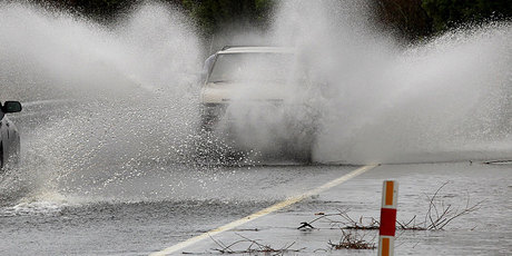 Surface flooding could occur, the MetService warns. Photo / File photo