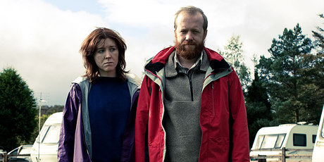 A scene from Sightseers, a film showing at the New Zealand International Film Festival. Photo / Supplied
