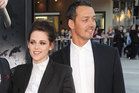Rupert Sanders, right, won't be directing Kristen Stewart in a Snow White sequel, if his wife has anything to do with it. Photo / AP