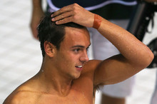 British diver Tom Daley was hit by several negative tweets after he finished out of medal contention at the Olympics. Photo / Getty Images 