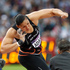 New Zealand's Valerie Adams action in the Olympic Games women's shot put. Photo / Mark Mitchell