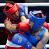 New Zealand's Alexis Pritchard during her bout against Russia's Sofya Ochigava. Photo / Mark Mitchell