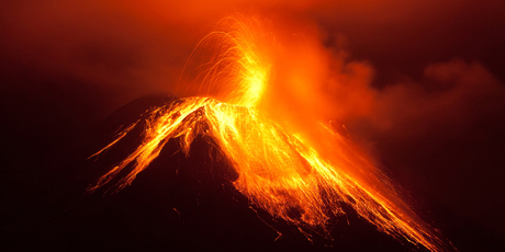 The eruption would have created a stratospheric aerosol veil that blocked out sunlight, altered atmospheric circulation patterns and cooled the Earth's surface.  Photo / Thinkstock