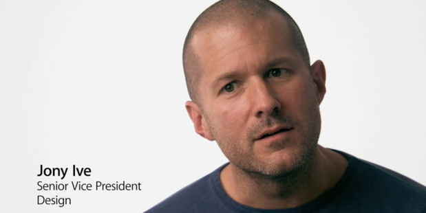 Jony Ive, Apple's design guru, is speaking out. Photo / File