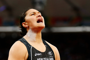 Valerie Adams said the Olympic registration issue which nearly cost her a chance to compete at the London Games 'screwed her up mentally'. Photo / AP.