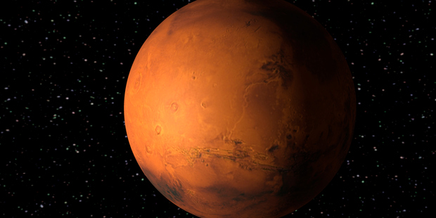 The hot topic of the day: Mars. Now India has plans to launch a study on the red planet in 2013. Photo / Thinkstock