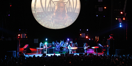 Smashing Pumpkins perform at Vector Arena. Photo / Jenna Todd