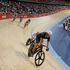 New Zealand's Shane Archibald, in black, during the men's omnium. Photo / Mark Mitchell.