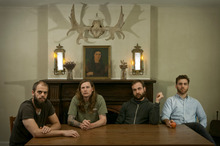 US band Baroness. Photo / AP