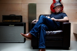 Mark Gardener will play acoustic versions of Ride. Photo / Supplied