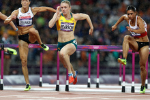 Sally Pearson won the gold medal in the 100m hurdles. Photo / Mark Mitchell 